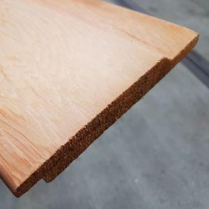 Halfhouts rabat Western Red Cedar 18x130mm 365cm